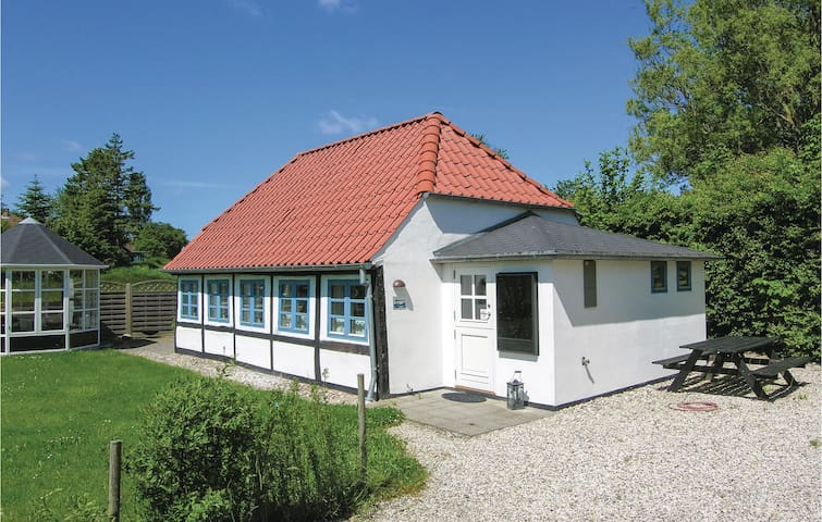 Holiday cottage with 1 bedroom on 61m² in Tranekær