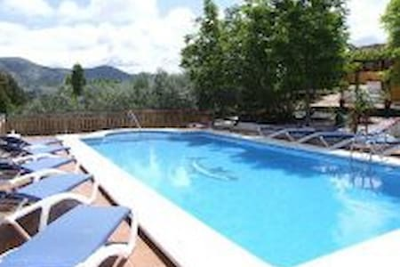 2 cottages and pool near Antequera - Bungalow