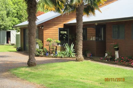 Paeroa Pukeko Lodge - Lovely country homestay. - Paeroa