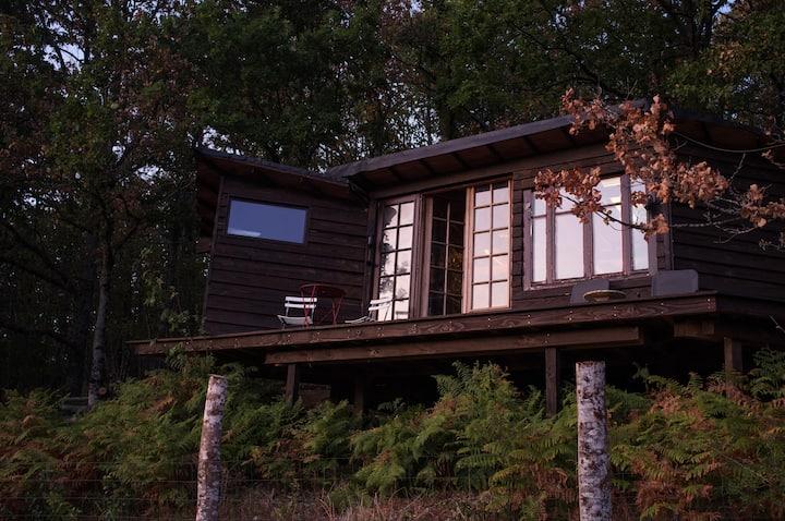 Superbe cabane avec vue au cœur de la nature