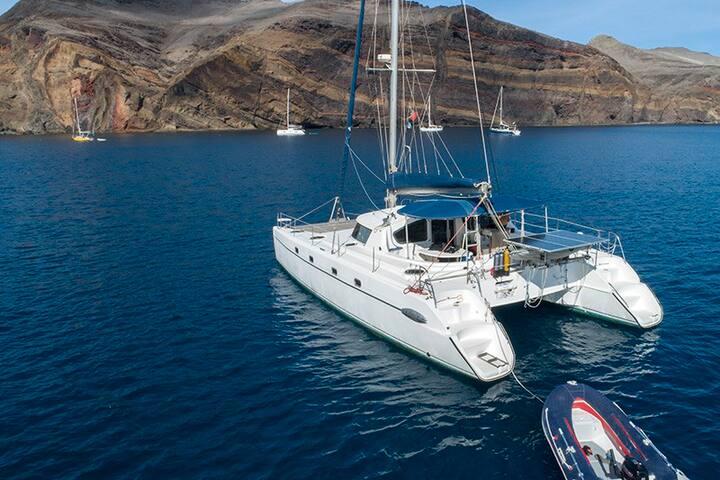 Catamaran au Cap Vert