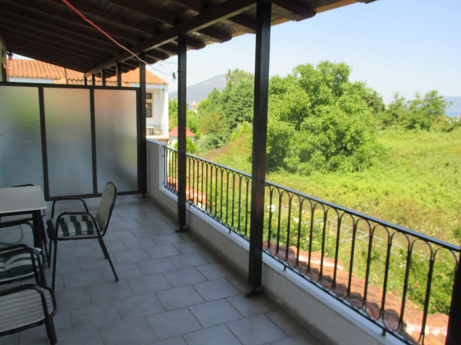 The two floor apartment on the north of evia 1 for Two floor apartment