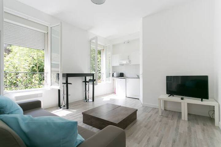 Charming Parisian studio! - Ivry-sur-Seine - Huoneisto