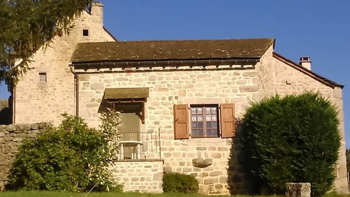 Maison dans ancienne ferme lozérienne