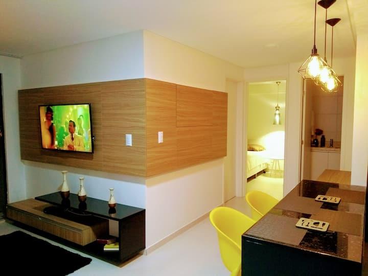 Descanso e Inspiração - apartamento Praia do Bessa