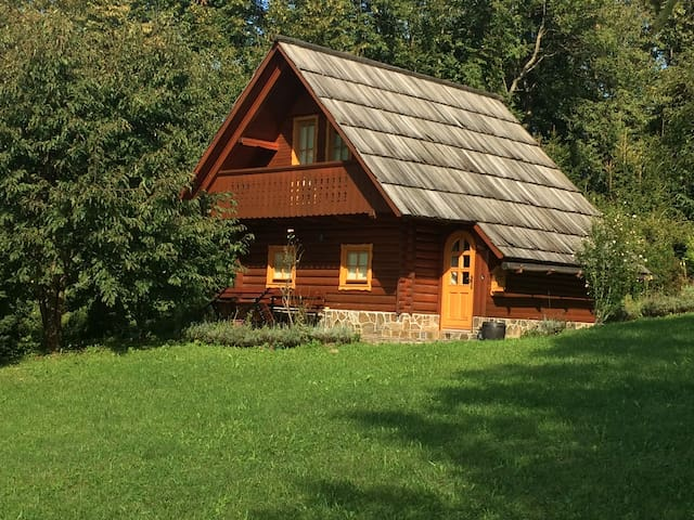 Countryside log cabin - Tirna