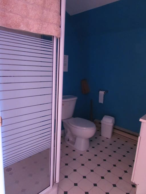 Blue Bathroom (Ooh la la)