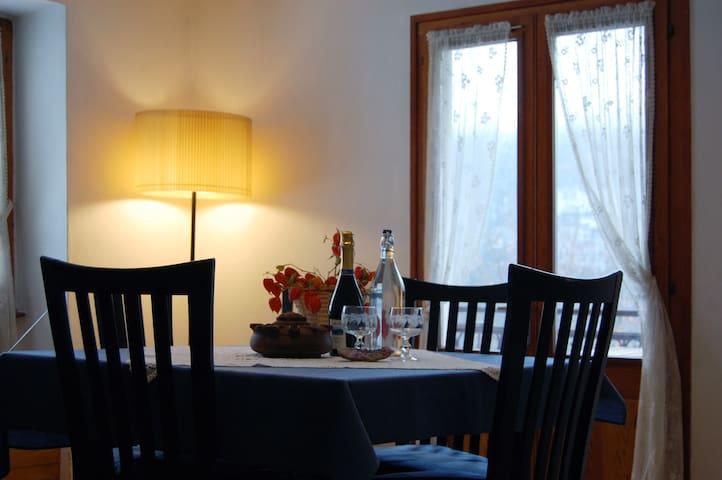 Appartamento nel cuore delle Alpi! - Trasquera - Wohnung
