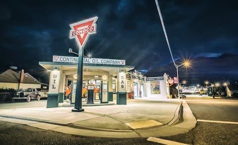 Historic Conoco Filling Station