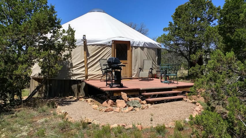 Glamorous Camping~Glamping In our Yurt!