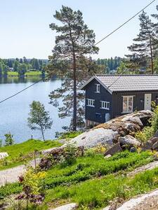 Unique cabin  35 min from Oslo with lake view