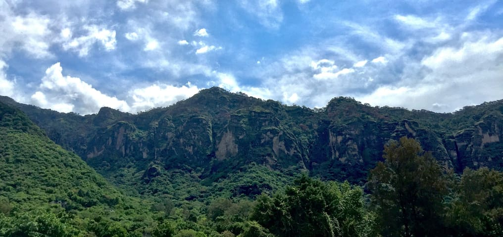 Spectacular and unique, at the heart of Tepoztlán