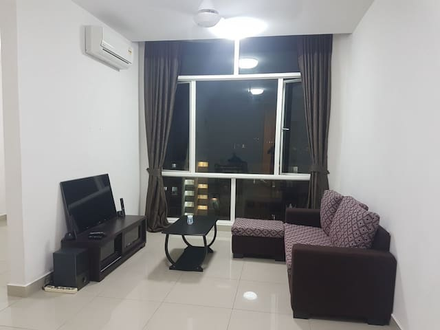 3Elements Fully Furnished+Wi-Fi  Equine/Puchong/SK