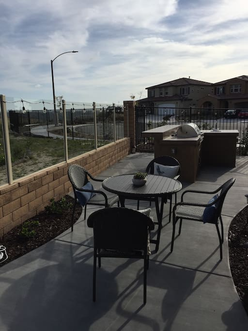 Access to Patio and Gas Grill