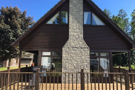 Beautiful Lodge for 10-forest/lake - Portumna