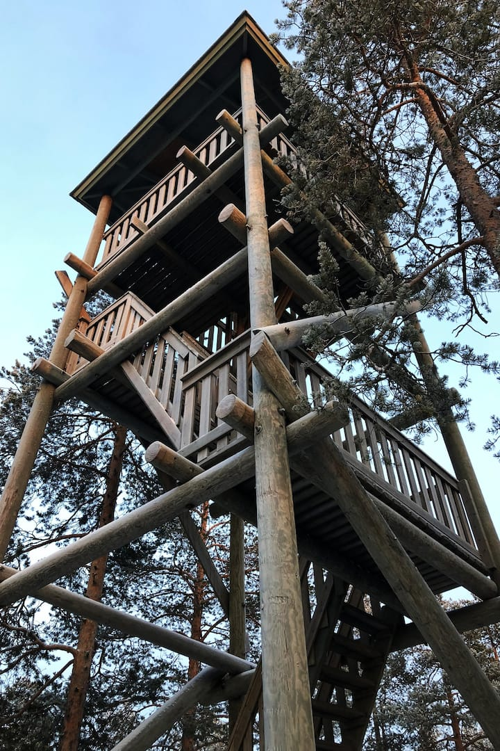 The First Tower in Ounasvaara.
