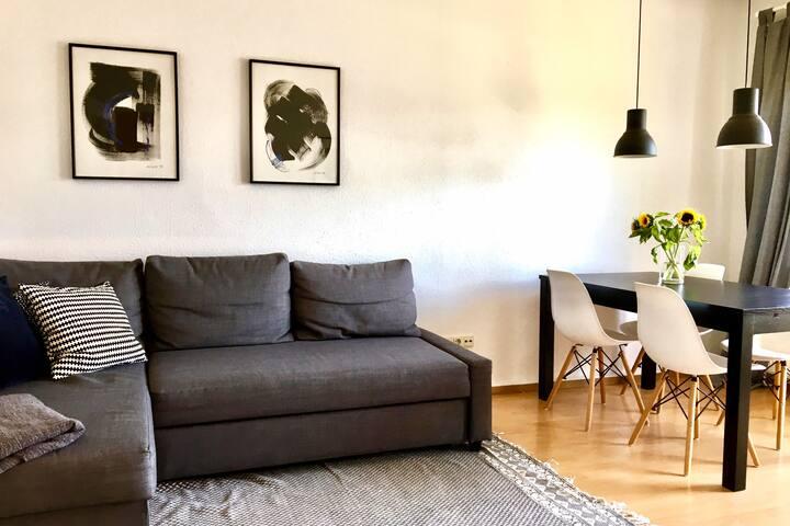 Sonnige Wohnung mitten in Erlangen
