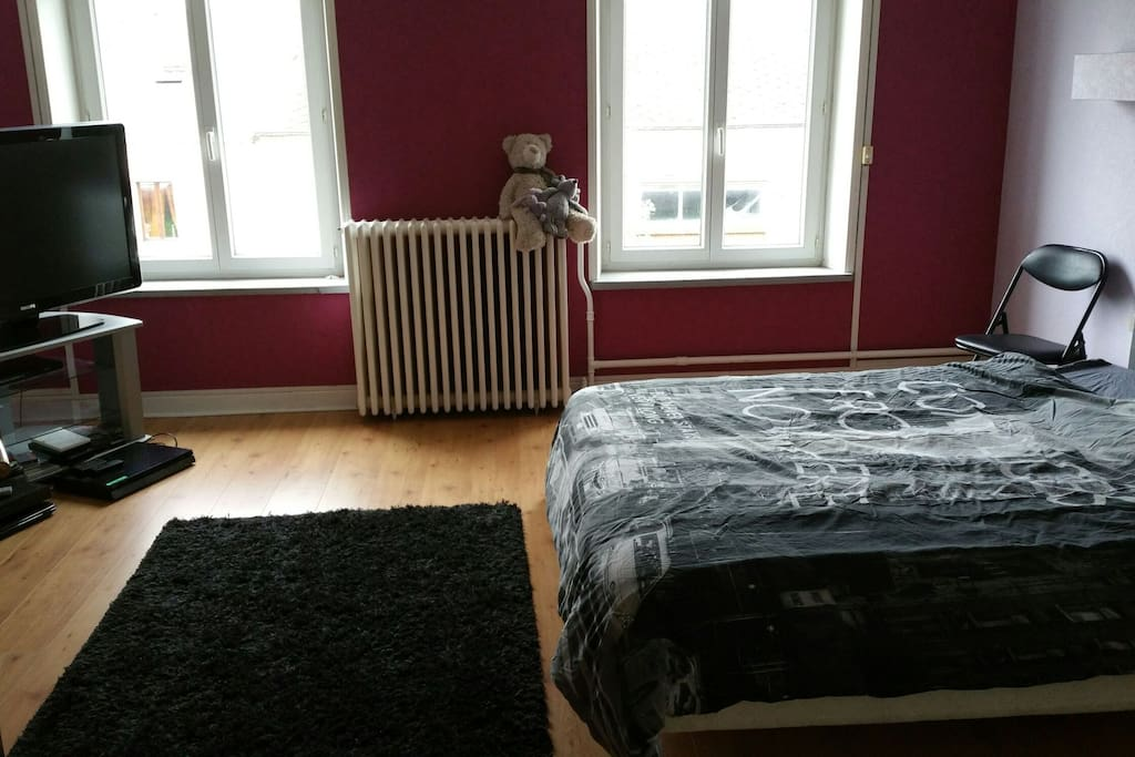 Chambre 23 m2. Enfin un bout..