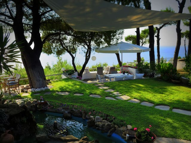 BY FAR THE BEST VIEW IN SANI RESORT!