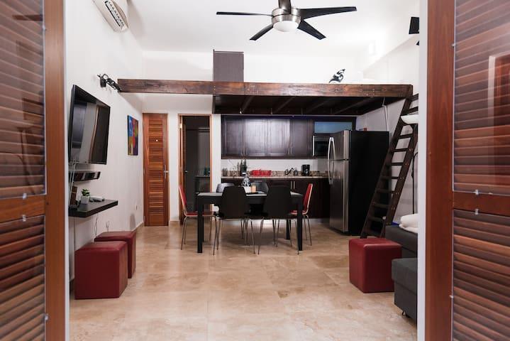 ♥ of Old San Juan / Modern Loft / Historic