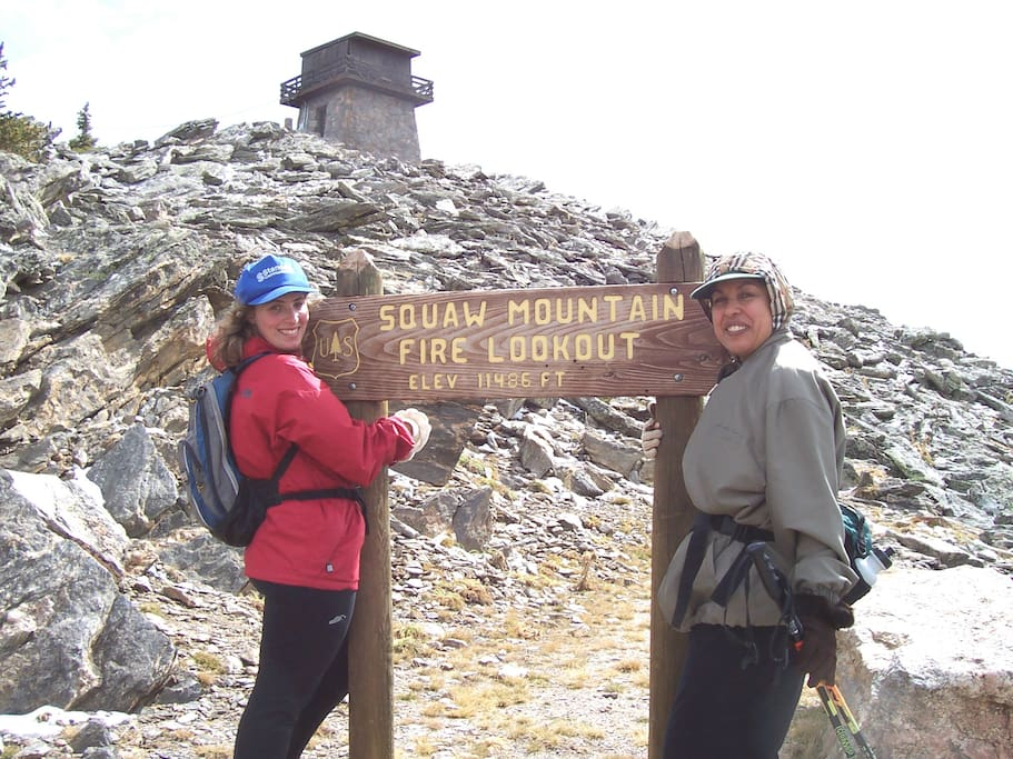 Hike up to 12000 ft elevation