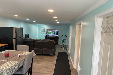 Clean, newly renovated lower unit with parking.