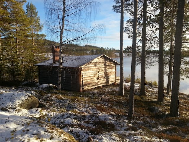 One peaceful cabin, one lake- nothing more!