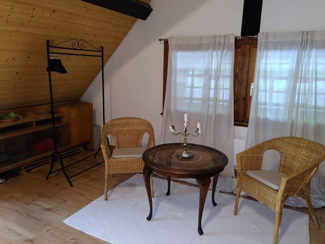 Kreatives Appartement im Schwarzwald