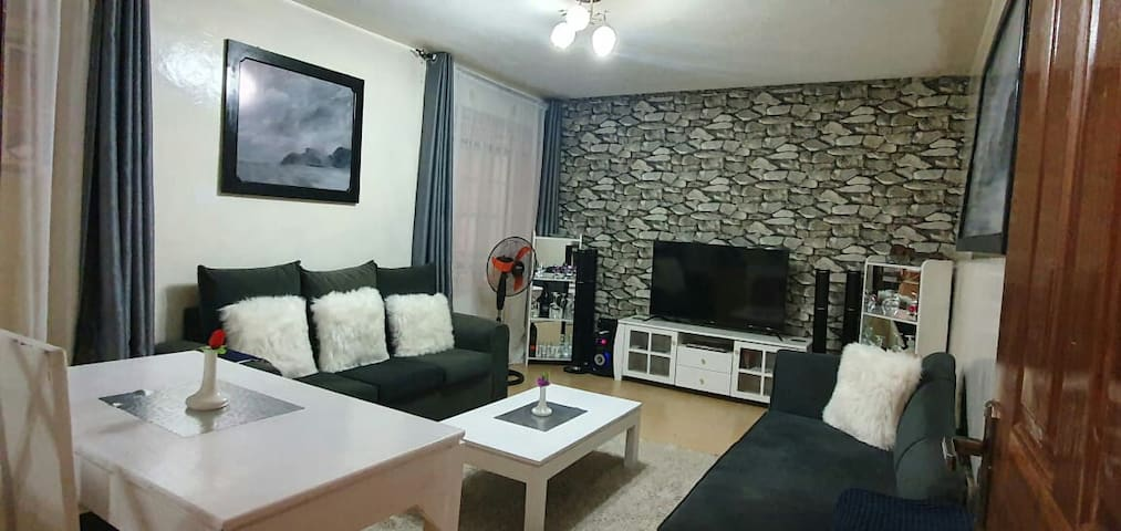 spacious 1bedroom,right opposite thika road mall.