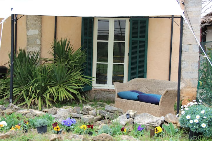 Independant Barn apartment in the vineyards. - Lorgues - Apartamento
