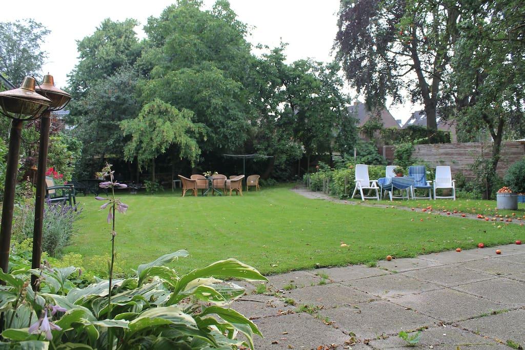 De ydillische tuin