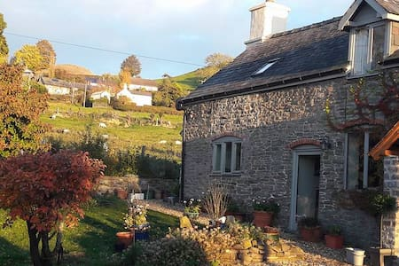 Idyllic rural location in Powys. Sorry no pets :0(