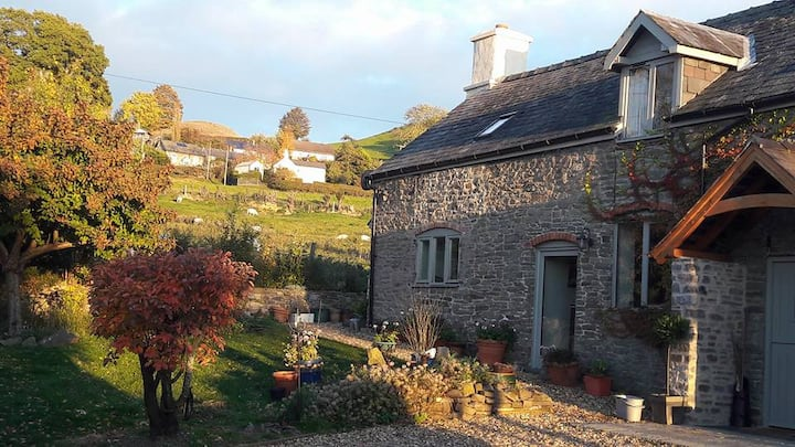 Idyllic rural location in Powys. Sorry no pets.