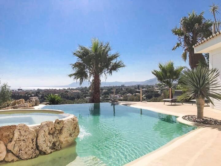 GuestHouse Marbella, SunsetVilla,Pool,Wifi,Golf,R3
