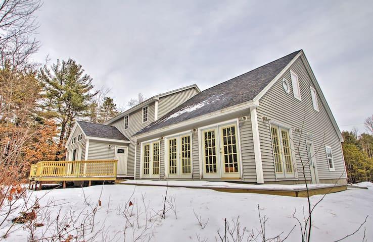 3BR + Loft Center Ossipee Home - Carroll County - Hus