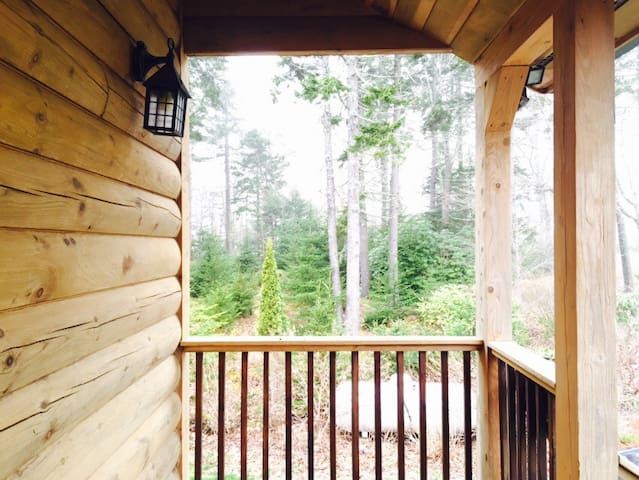 Cabin in the woods - South Bristol - Huis
