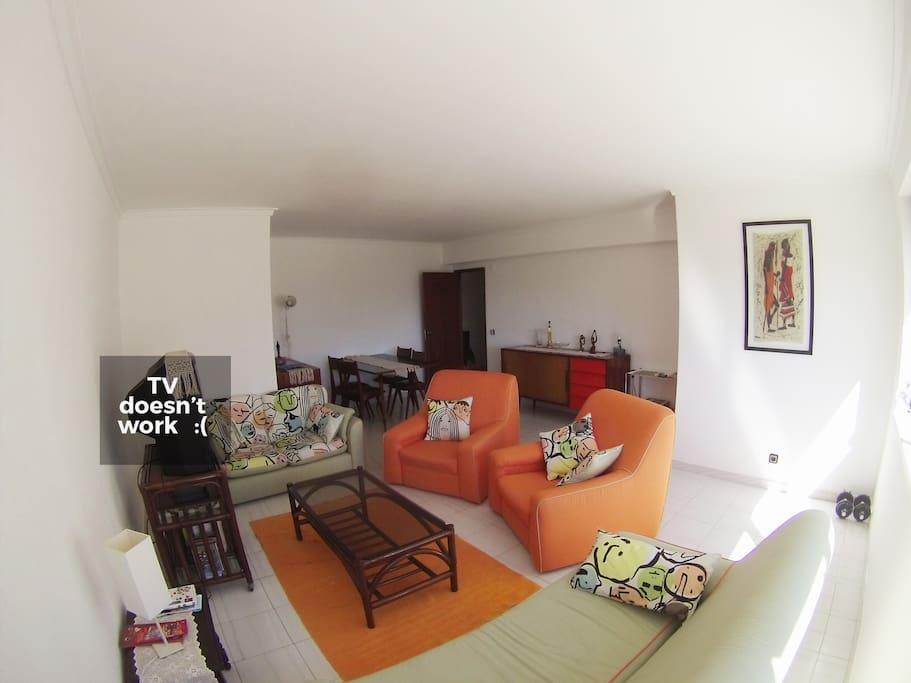 nice big living room