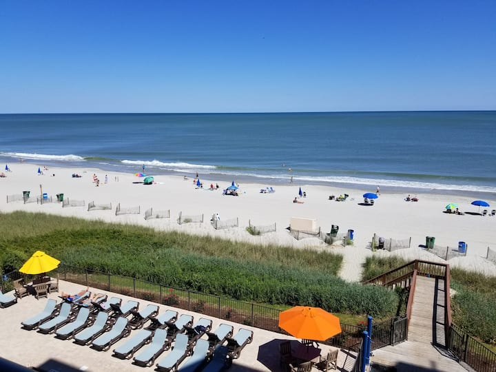 ⛱OCEANFRONT KING⛱ ALL NEW! +HEATED POOL! Smart TVs