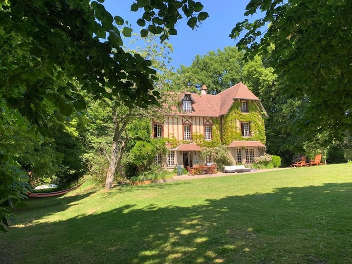 Magnifique maison Normande with a private  pool