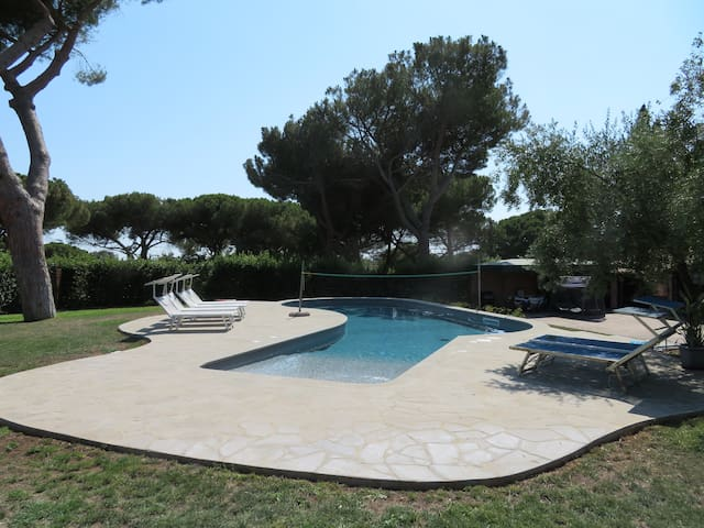 Villa la Torretta - A country corner in Rome