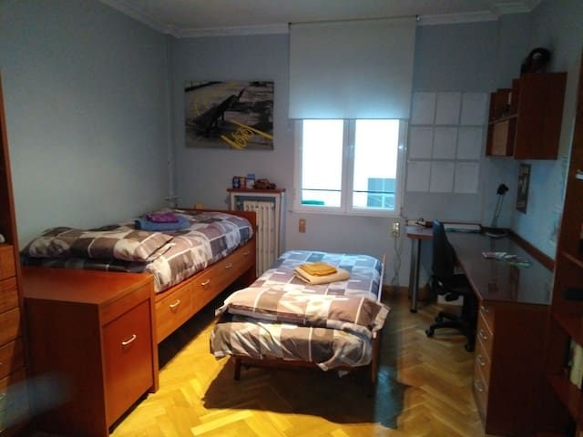 Habitación doble Madrid Centro