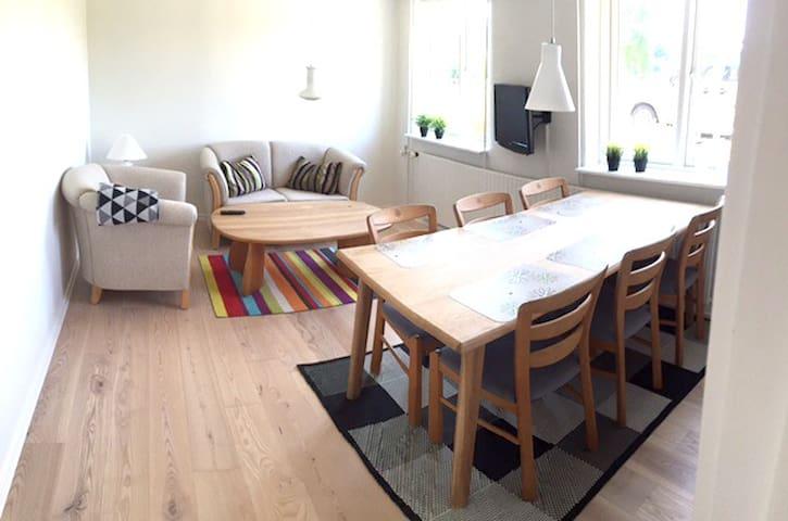 Hyggelig lejlighed i idyliske Glyngøre - Roslev - Oda + Kahvaltı