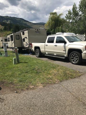 Cozy Camping Getaway