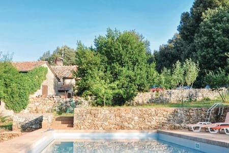 Tuscan Country House Private Pool WiFi Siena 20P - Sovicille - Hus