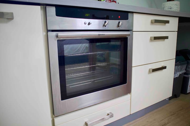 Fan assisted oven for cooking
