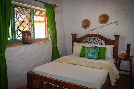 Double room: Finca Miraflores Hostal. - Piedecuesta