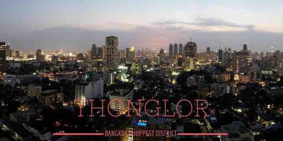 曼谷日本富人区河边别墅通罗区堂吉柯德步行可到RCA酒吧街/码头直达central world/四面佛