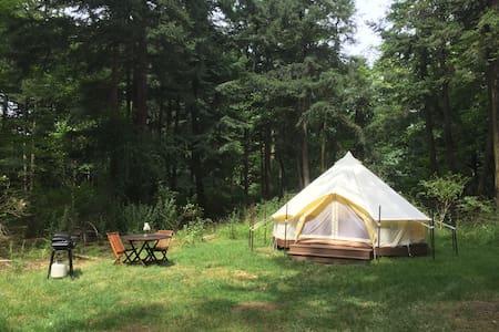 Comfy Bell Tent near Crescent Beach