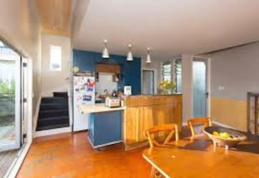 main kitchen space