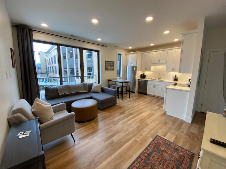 Brand New! Luxury Condo in Downtown Traverse City